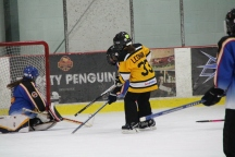 This me scoring at a ringette game!