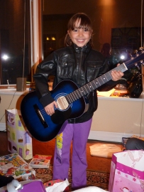 This is me when I got my guitar!